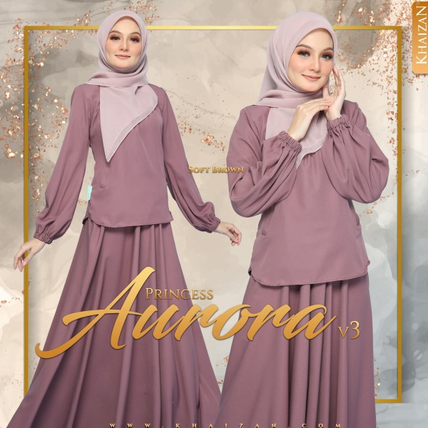 PRINCESS AURORA V3 - SOFT BROWN - KHAIZAN