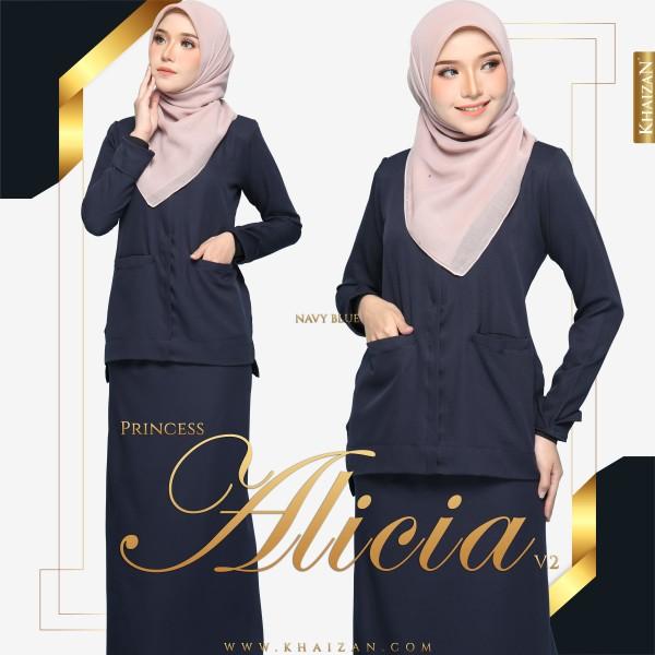 PRINCESS ALICIA V2 - NAVY BLUE - KHAIZAN