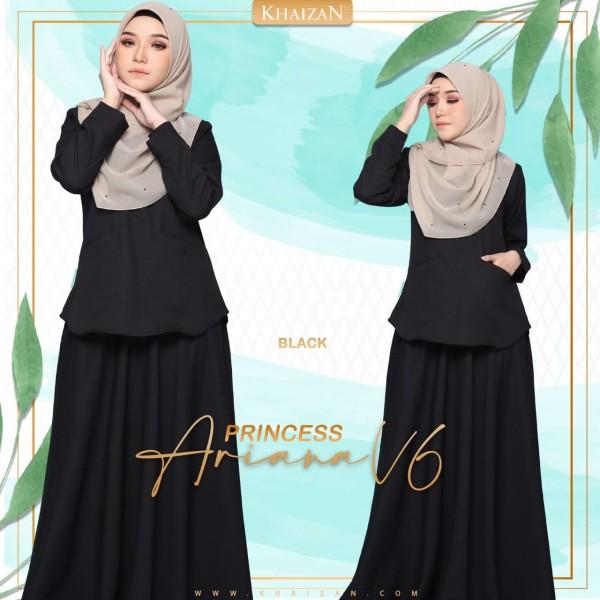 PRINCESS ARIANA - BLACK (V6)   - KHAIZAN