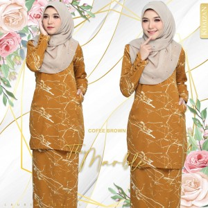 THE MARBLE BY LAUREA SERIES - COFFEE BROWN - KHAIZAN