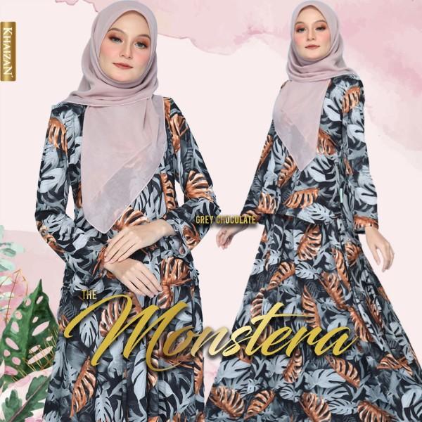 THE MONSTERA - GREY CHOCOLATE - KHAIZAN