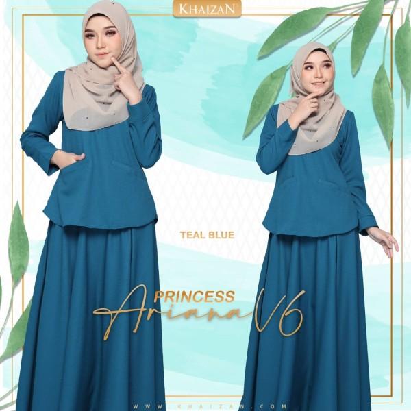 PRINCESS ARIANA - TEAL BLUE (V6)  - KHAIZAN