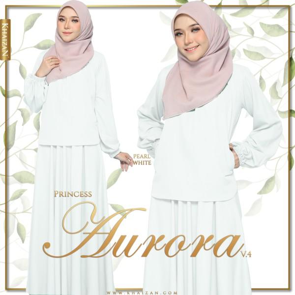 PRINCESS AURORA V4 - PEARL WHITE - KHAIZAN