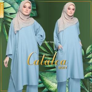 CATALEA SUIT - LIGHT TEAL (V2) - KHAIZAN