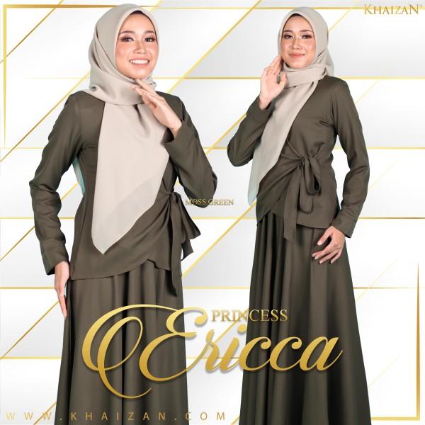 PRINCESS ERICCA - MOSS GREEN - KHAIZAN
