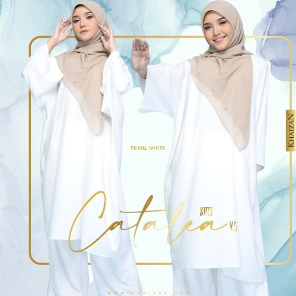 CATALEA SUIT - PEARL WHITE (V5) - KHAIZAN