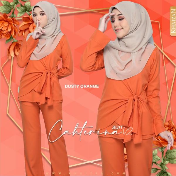 CATHERINA SUIT V2 - DUSTY ORANGE - KHAIZAN