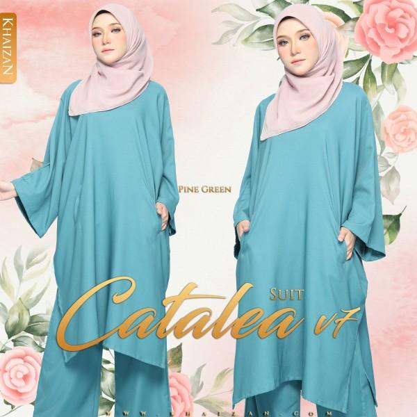CATALEA SUIT V7 - PINE GREEN - KHAIZAN