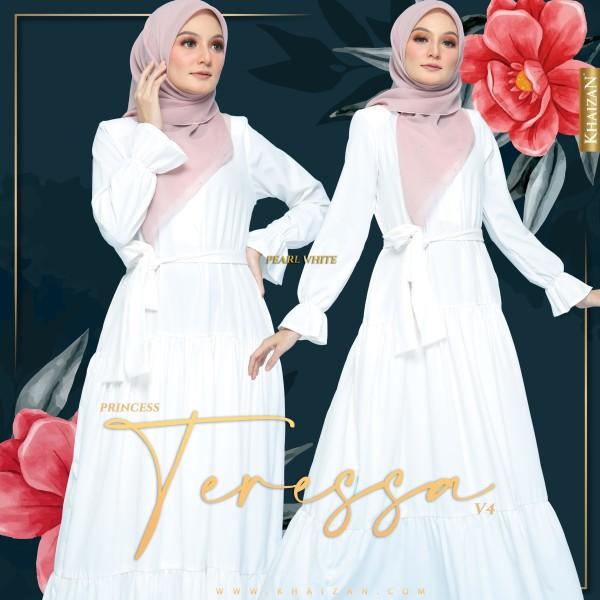 PRINCESS TERESSA V4 - PEARL WHITE - KHAIZAN