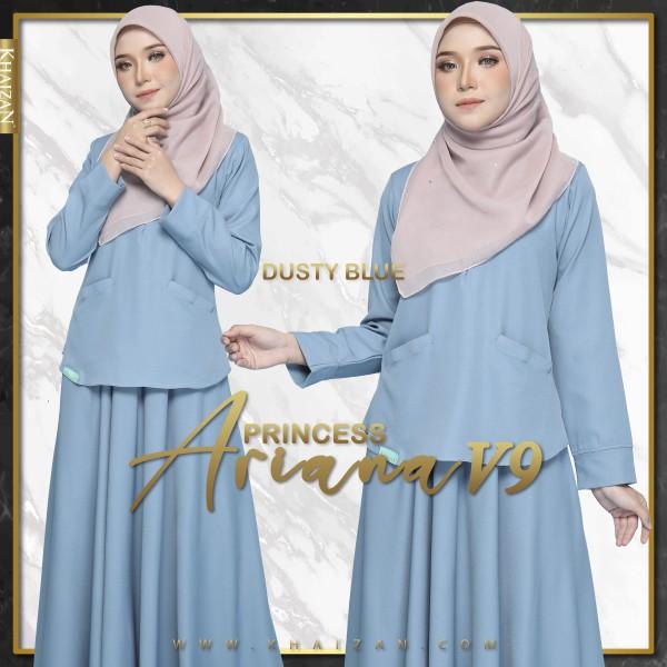 PRINCESS ARIANA V9 - DUSTY BLUE - KHAIZAN