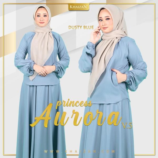 PRINCESS AURORA V5 - DUSTY BLUE - KHAIZAN