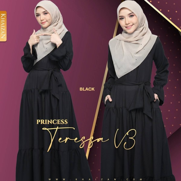PRINCESS TERESSA - BLACK (V3)  - KHAIZAN