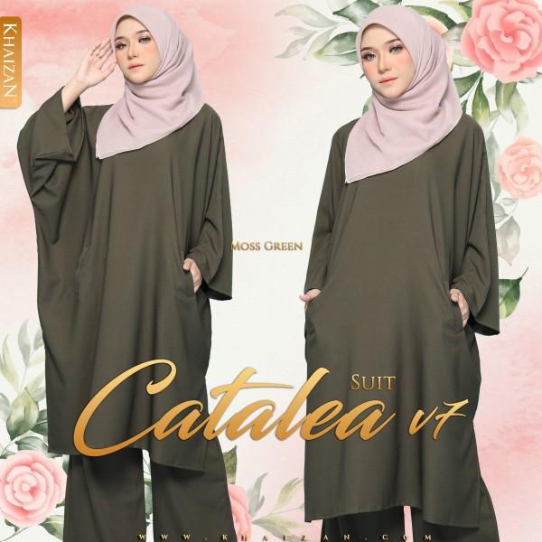 CATALEA SUIT V7 - MOSS GREEN - KHAIZAN