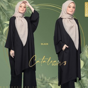 CATALEA SUIT - BLACK (V3) - KHAIZAN