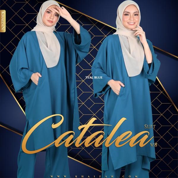CATALEA SUIT V8 - TEAL BLUE - KHAIZAN