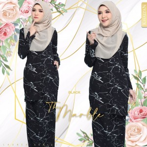 THE MARBLE BY LAUREA SERIES - BLACK - KHAIZAN