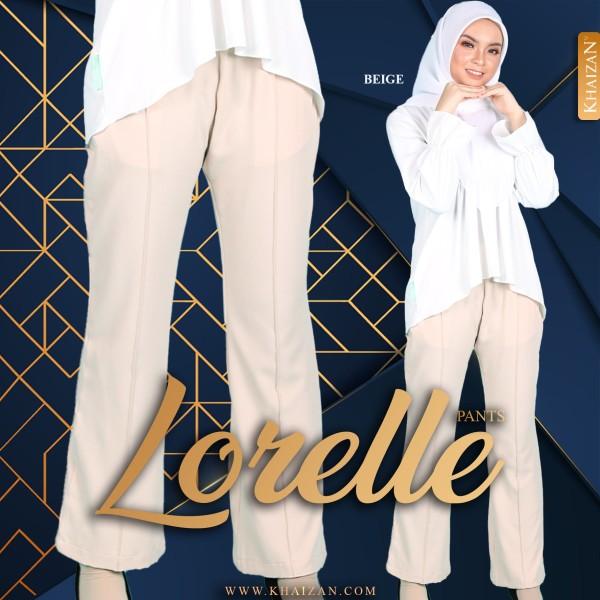 LORELLE PANTS - BEIGE - KHAIZAN