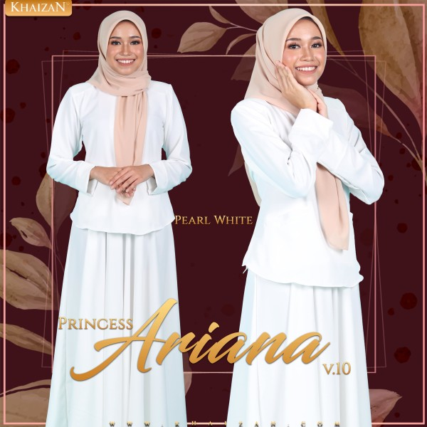 PRINCESS ARIANA V10 - PEARL WHITE - KHAIZAN