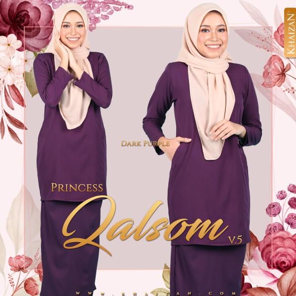 PRINCESS QALSOM V5 - DARK PURPLE - KHAIZAN