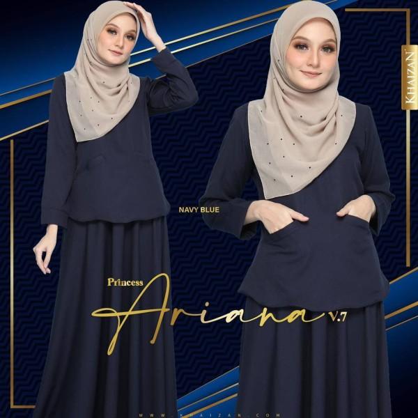 PRINCESS ARIANA - NAVY BLUE (V7) - KHAIZAN