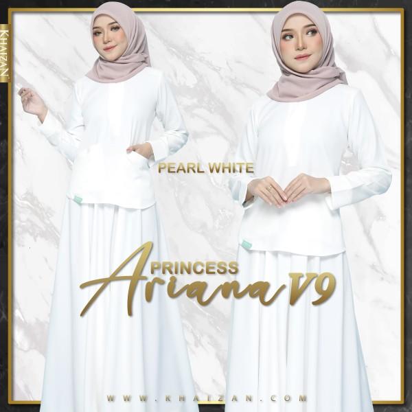PRINCESS ARIANA V9 - PEARL WHITE - KHAIZAN