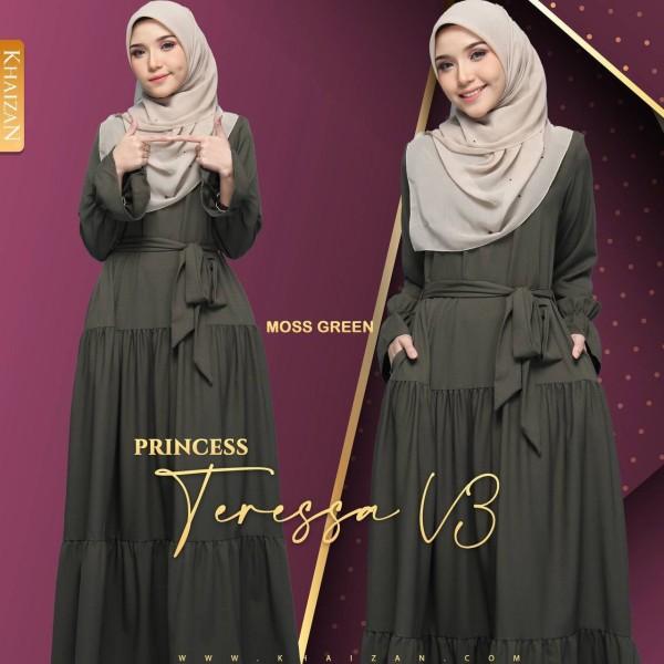 PRINCESS TERESSA - MOSS GREEN (V3) - KHAIZAN