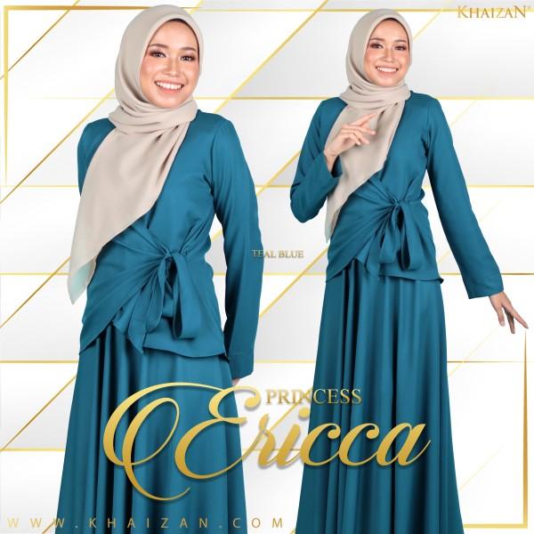 PRINCESS ERICCA - TEAL BLUE - KHAIZAN
