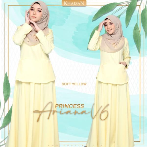 PRINCESS ARIANA - SOFT YELLOW  (V6) - KHAIZAN