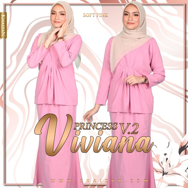 MISS VIVIANA V2 - SOFT PINK - KHAIZAN