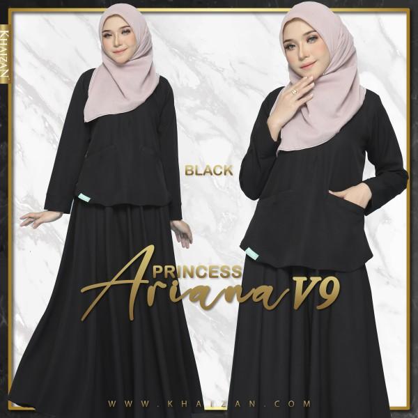 PRINCESS ARIANA V9 - BLACK - KHAIZAN