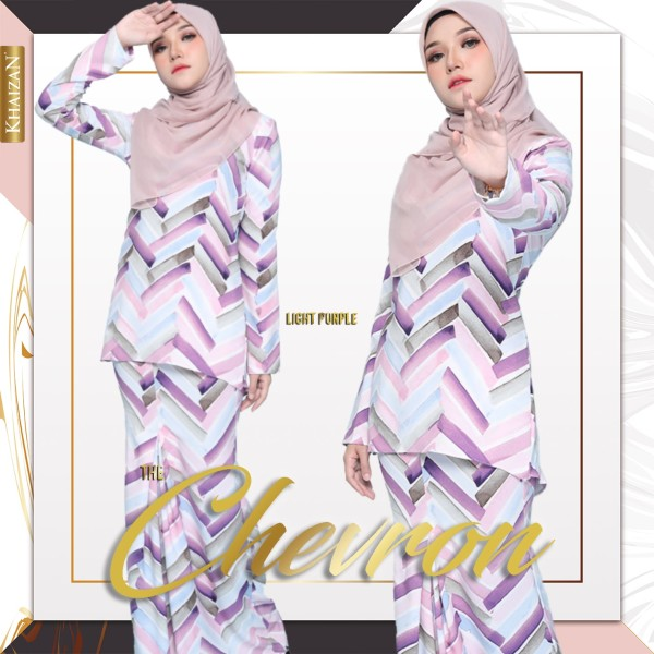 THE CHEVRON - LIGHT PURPLE - KHAIZAN