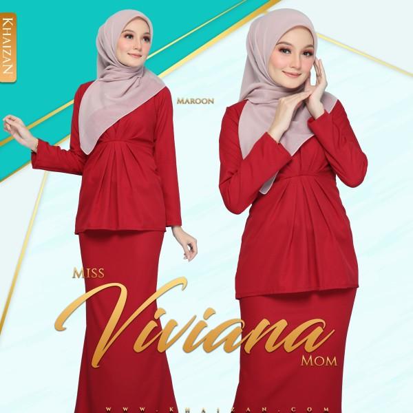 MISS VIVIANA - MAROON - KHAIZAN