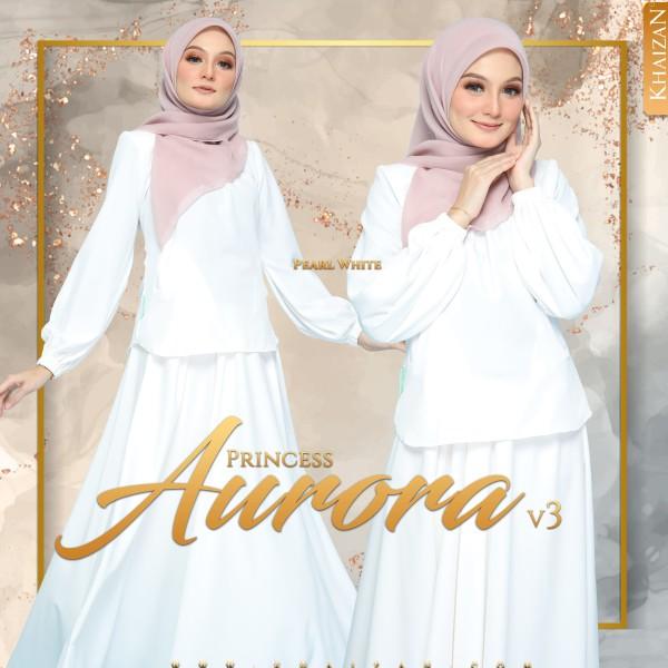 PRINCESS AURORA V3 - PEARL WHITE - KHAIZAN