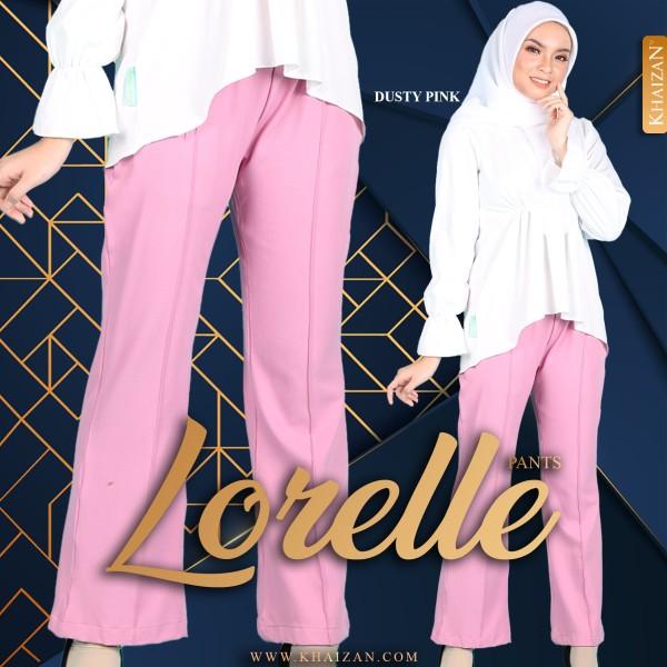 LORELLE PANTS - SOFT PINK - KHAIZAN