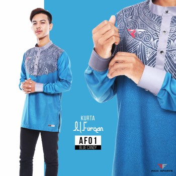 KURTA EXCLUSIVE - BLUE CANDY