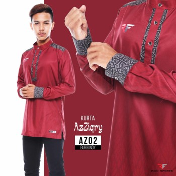 KURTA EXCLUSIVE - BURGUNDY