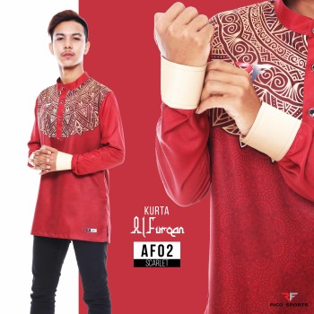 KURTA EXCLUSIVE - SCARLET