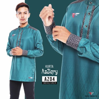 KURTA EXCLUSIVE - EMERALD GREEN
