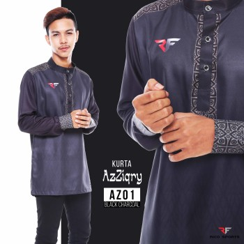KURTA EXCLUSIVE - BLACK CHARCOAL