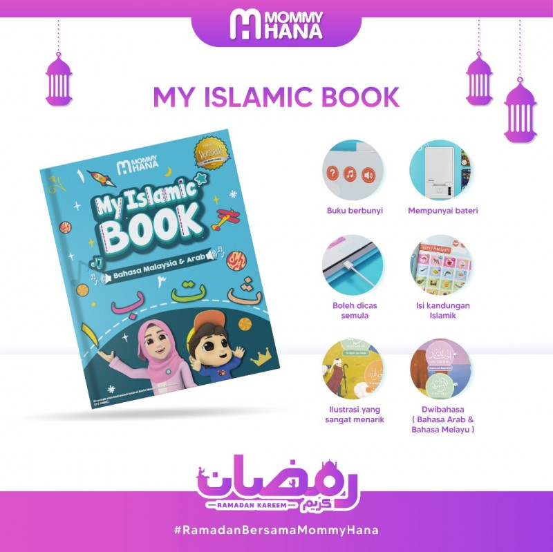 My Islamic Book + 4 Magic Book