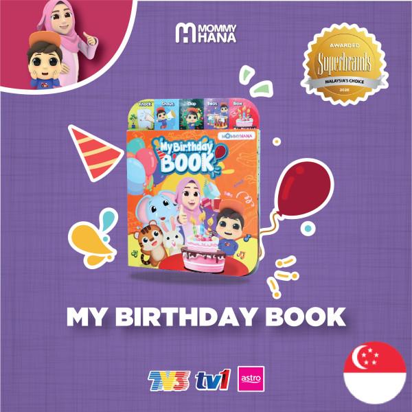 My Birthday Book - Singapore - MommyHana