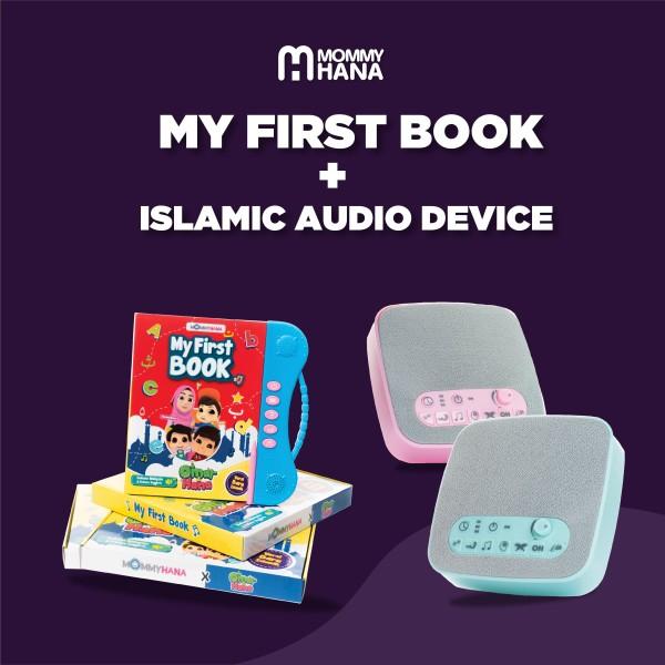 Combo My First Book + Islamic Audio Device - MommyHana