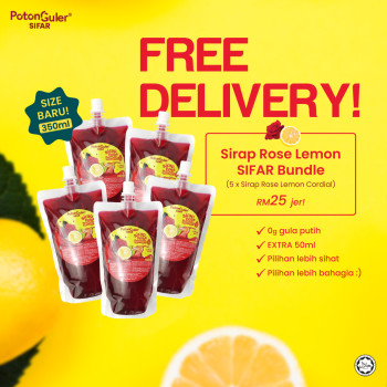 [FREE DELIVERY] SIRAP ROSE LEMON SIFAR BUNDLE