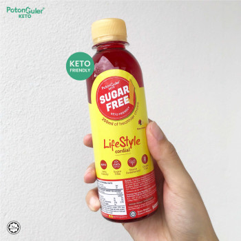 [KETO SERIES] SUGAR FREE LIFESTYLE ROSE LEMON CORDIAL