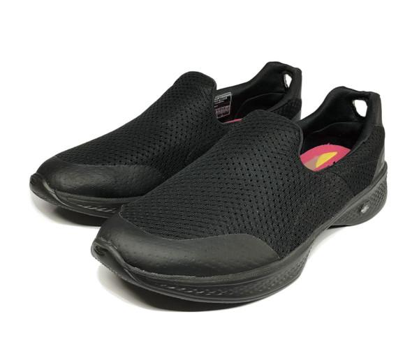 Skechers Go Walk 4 Ladies - All Black - Hyperkix