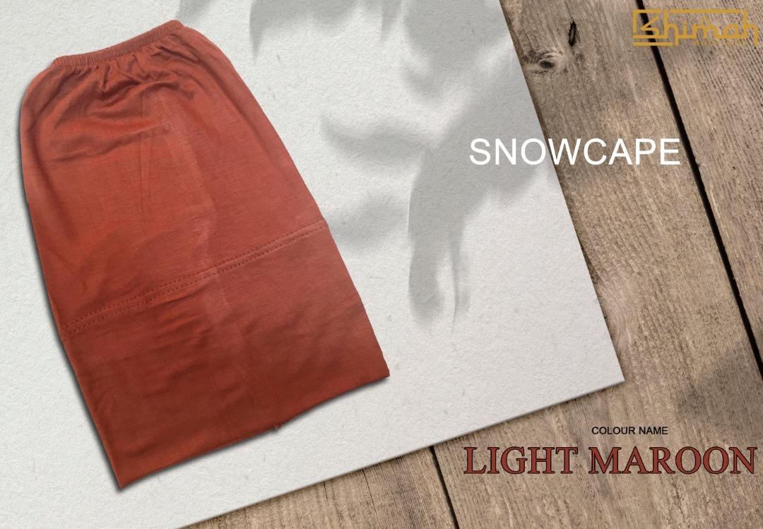 Inner Snowcape - Light Maroon