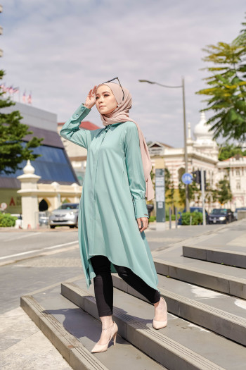 TUNIC SAMARA - PALE WOOD - Fezane