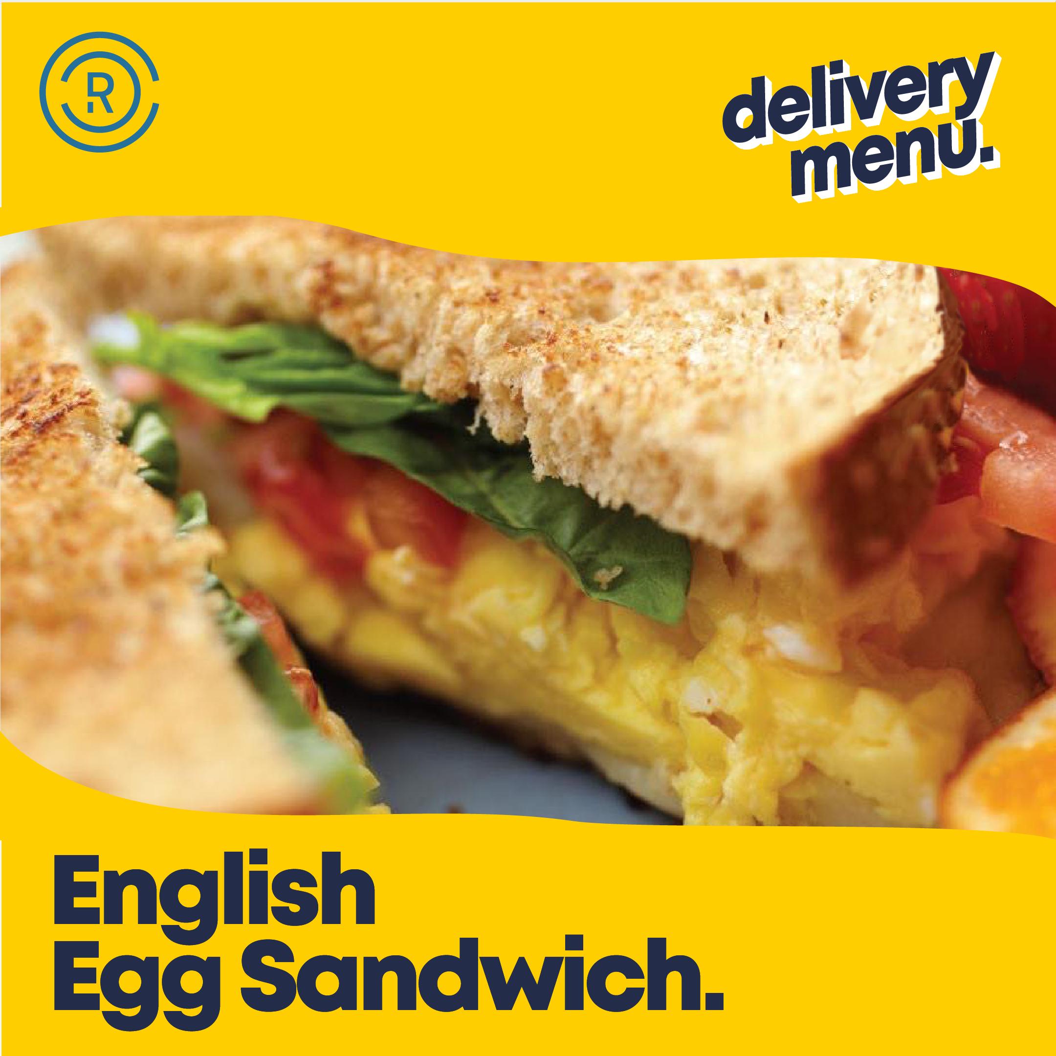 English Egg Sandwich