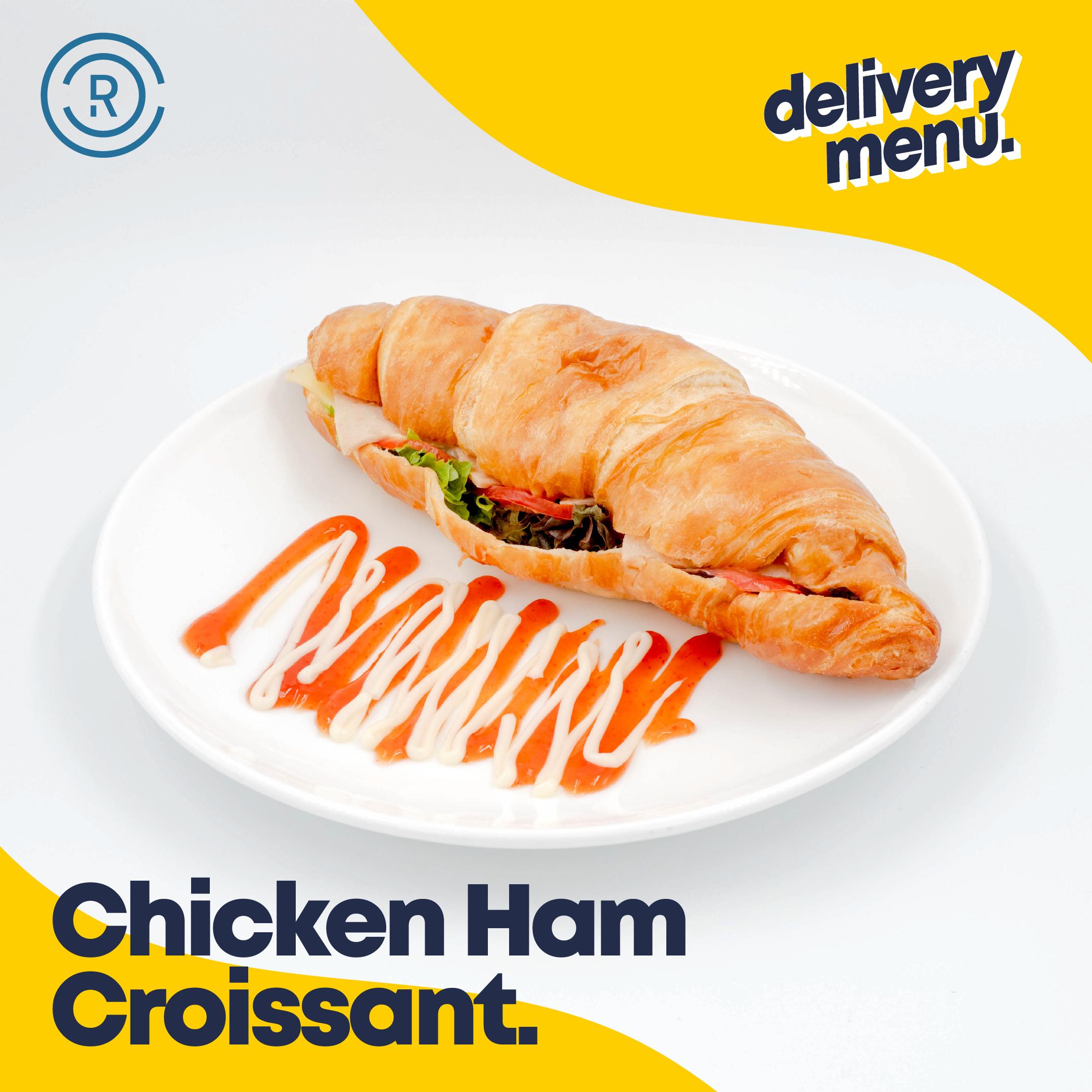 Chicken Ham Croissant