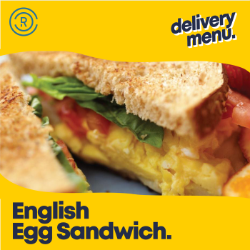 English Egg Sandwich